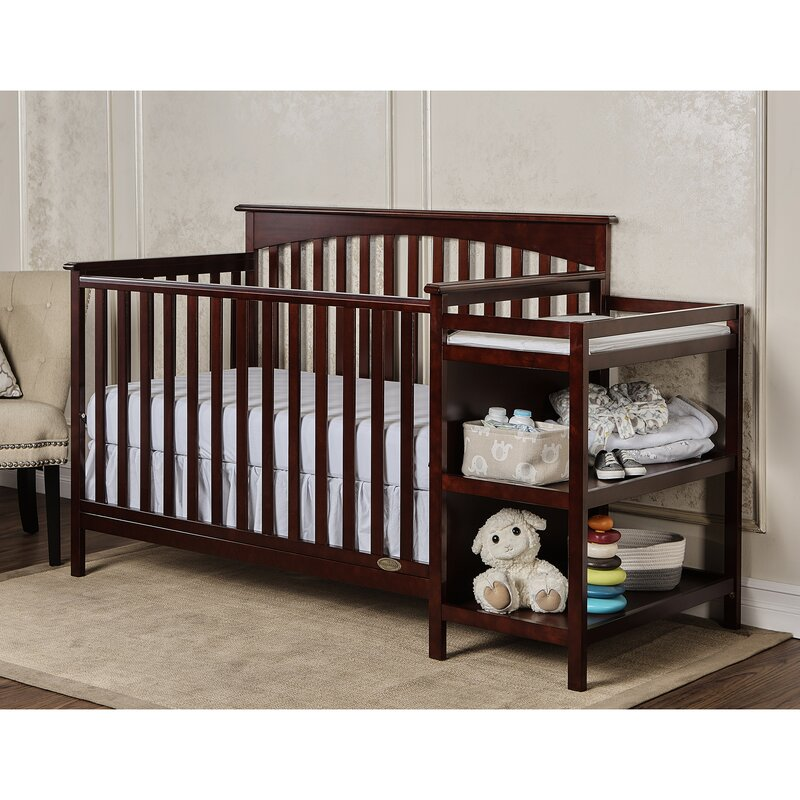 Chloe 3 In 1 Convertible Crib And Changer Combo