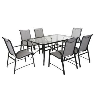 Patio Dining Sets Joss Main - Black rectangular outdoor dining table