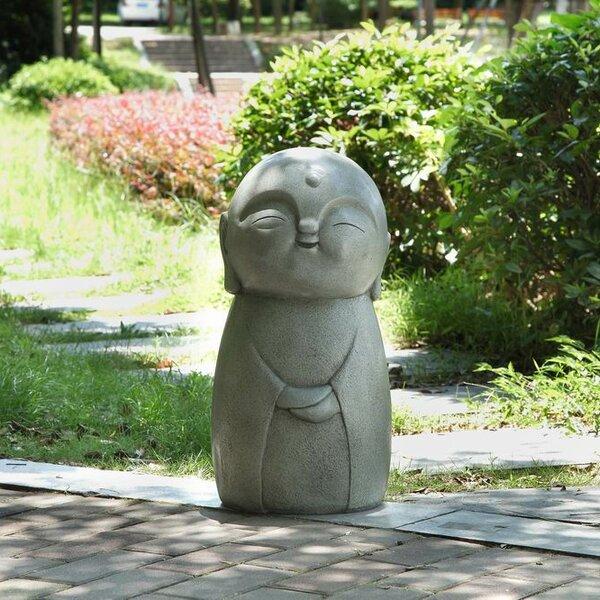 Hi Line Gift Ltd Smiling Lucky Japanese Jizo Statue