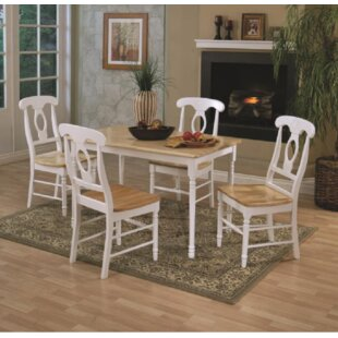 Orson 5 Piece Drop Leaf Breakfast Nook Dining Set