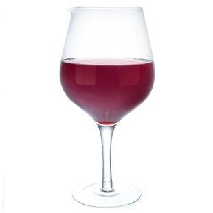 Jumbo Wine Glass Decanter by Vinology