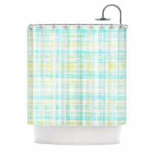 Watercolour Tartan by Michelle Drew Shower CurtainPlaid Shower Curtains You ll Love   Wayfair. Yellow And Teal Shower Curtain. Home Design Ideas