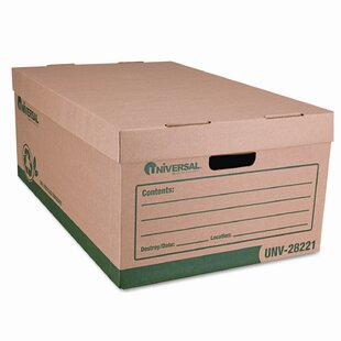 Recycled Record Storage Box Letter 12 X 15 10 Kraft Carton