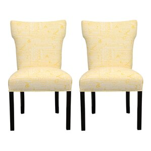 Newsletter Accent Chair (Set of 2) by Sole Designs