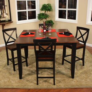 Rosetta 5 Piece Counter Height Dining Set..