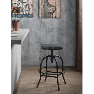 Kirtland Adjustable Height Swivel Bar Stool