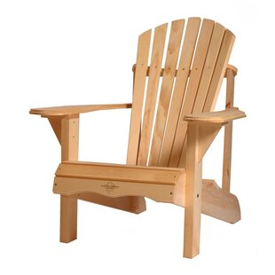 Boothe Solid Wood Adirondack Chair