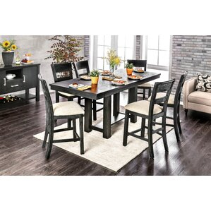 Aiden 7 Piece Dining Set by Gracie Oaks