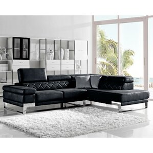Orren Ellis Coalpit Heath Reclining Sectional