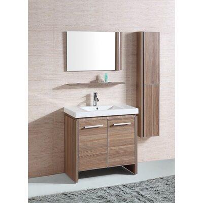 "Bathroom Mirror And Vanity Set legion furniture 31"" single bathroom vanity set with mirror and"