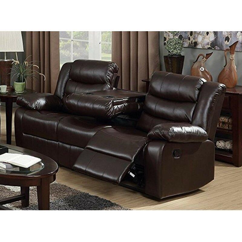 Winston Porter Musso Reclining Sofa | Wayfair