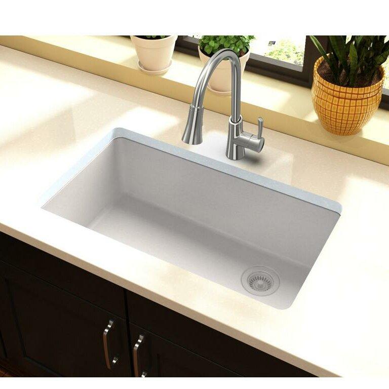 Quartz Classic  Undermount Kitchen Sink