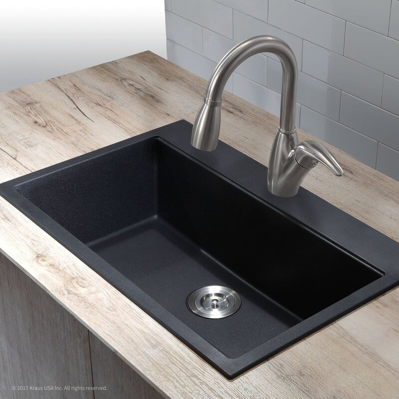 topmount kitchen sink kraus 31 quot x 20 08 quot undermount topmount kitchen sink 2866