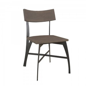 Medina Solid Wood Dining Chair by Union Rustic