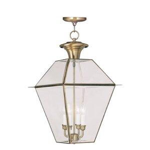 orchard lane 4light outdoor hanging lantern