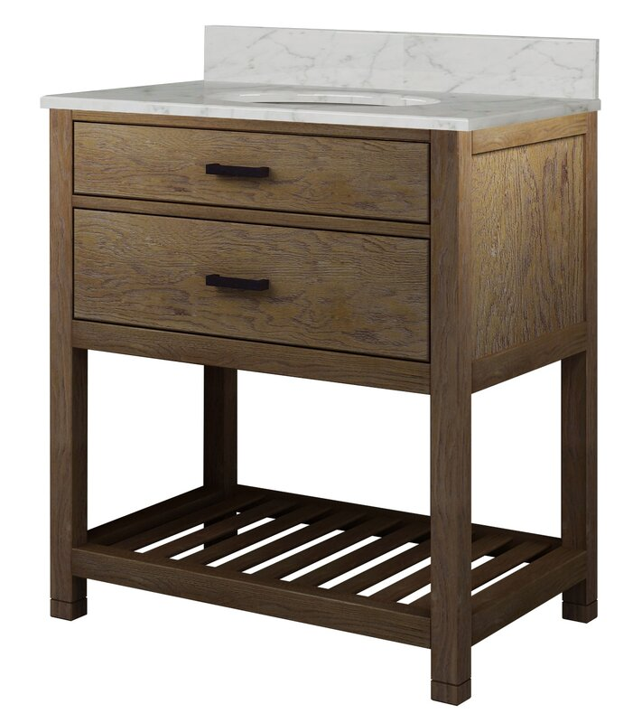 "Rustic Bathroom Vanity Set: Sagehill Toby 31"" Single Bathroom Vanity Set & Reviews"