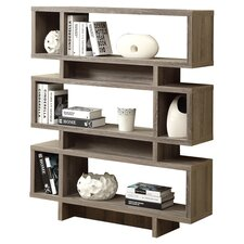 """Peregrin 55"""" Accent Shelves Bookcase"""
