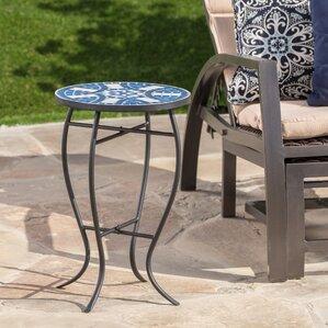 leeds outdoor side table