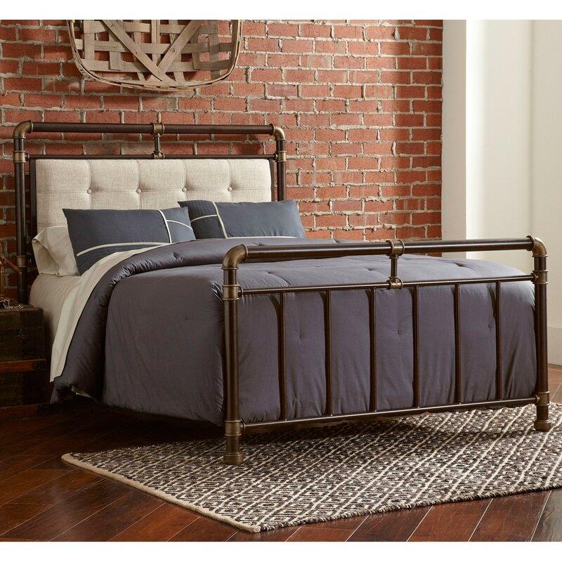 adelange queen bed - Iron Queen Bed Frame