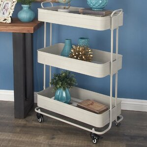 Metal Bar Cart by Cole & G..