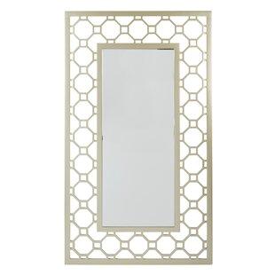 Rectangular Gold Framed Modern Contemporary Wall Mirror