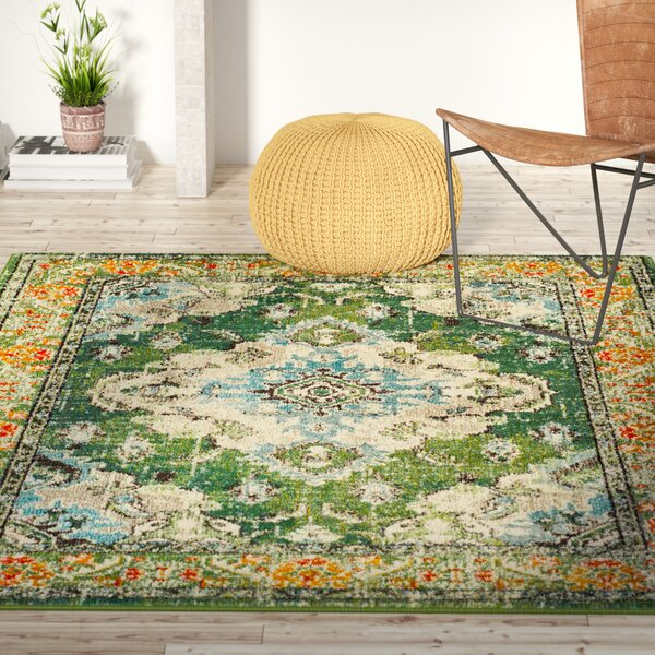Mistana Newburyport Green Area Rug Amp Reviews Wayfair