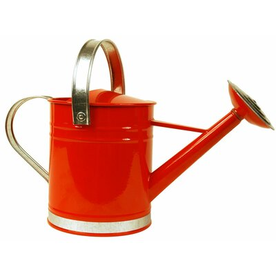 0.5 Gallon Basic Watering Can Arcadia Garden Products Color: Red