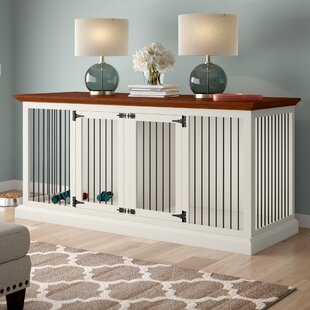 Brooke Double Wide Large Credenza Pet Crate