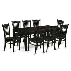 Watertown 9 Piece Dining Set by World Menagerie