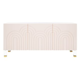Fitts Wave Acrylic Sideboard