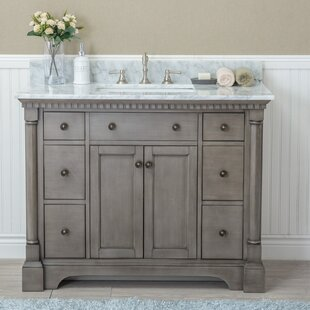 42 Inch Bathroom Vanities. Save Darby Home Co Goldberg 42 Single Bathroom Vanity Set