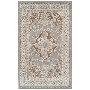 Vassar Gray/Brown Area Rug