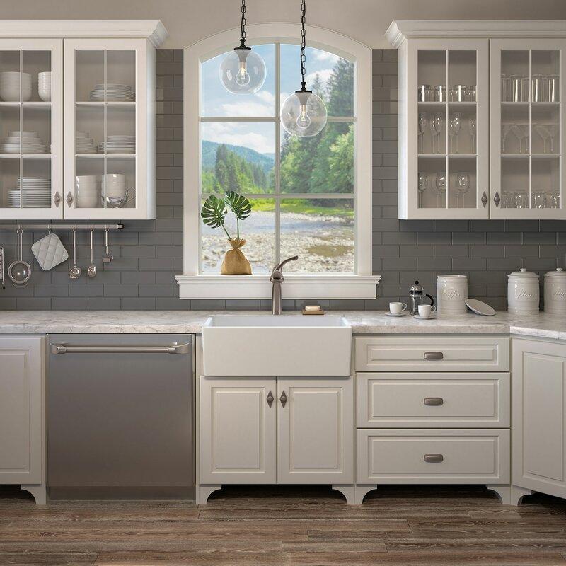 surrey fireclay 30 l x 18 w farmhouse kitchen sink - Farm House Kitchen