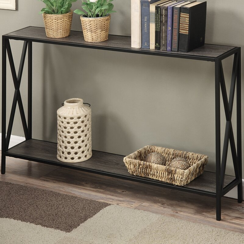 Andover Mills Abbottsmoor Metal Frame Console Table