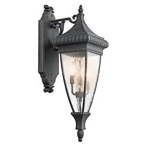 Venetian Rain 2-Light Outdoor Wall Lantern