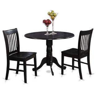 gloucester 3 piece dining set 3 piece kitchen  u0026 dining room sets you u0027ll love   wayfair  rh   wayfair com