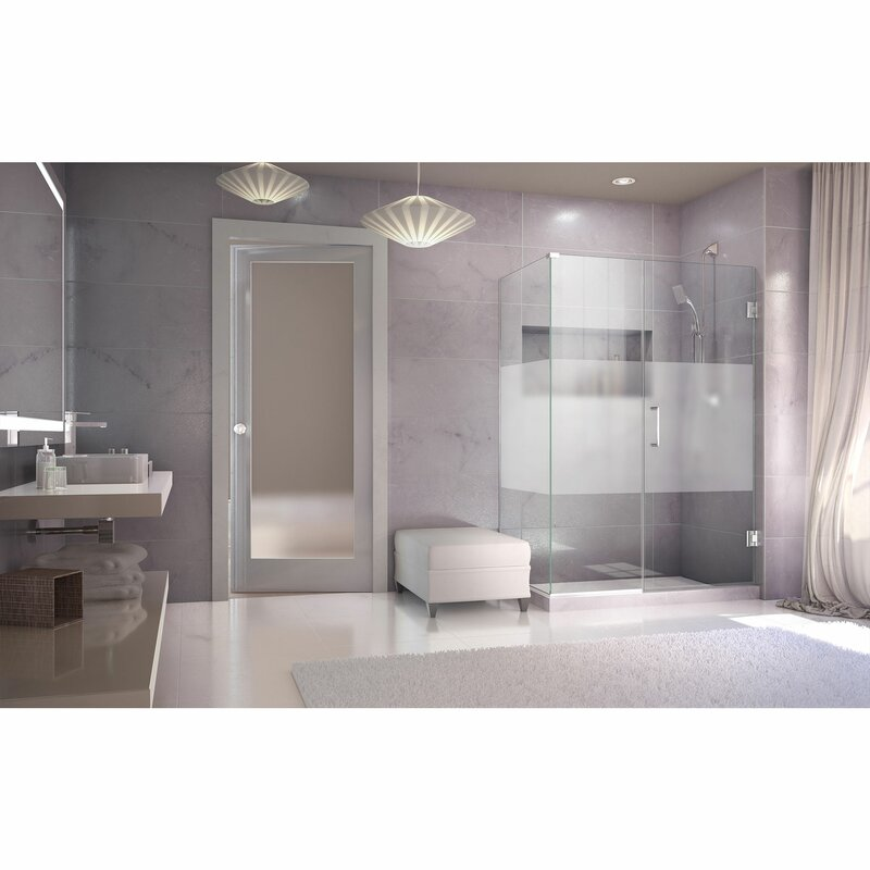Unidoor Plus 38 W X 34 D Hinged Shower Enclosure