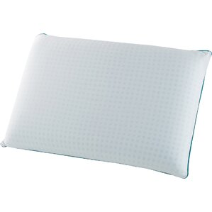 Ginsberg Gel Infused Memory Foam Standard Pillow (Set of 2) by The Twillery Co.