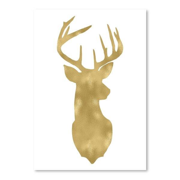 Famous Gold Deer Head Wall Decor Inspiration - Wall Art Design ...