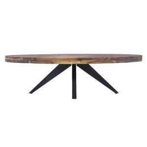 Serita Oval Coffee Table by Union Rustic