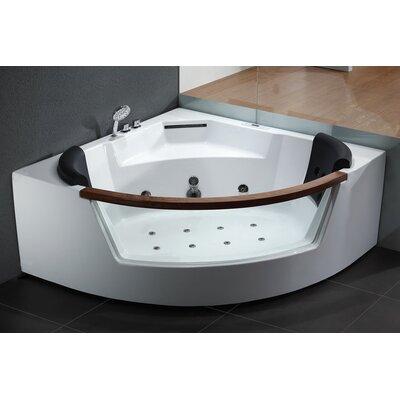Corner Bathtubs Youll Love Wayfairca - Corner tub with jets