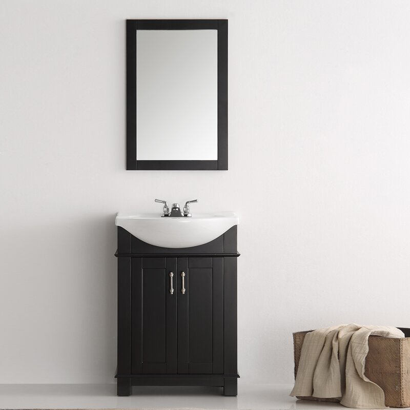 Cambria 24  Single Bathroom Vanity Set Fresca Reviews Wayfair