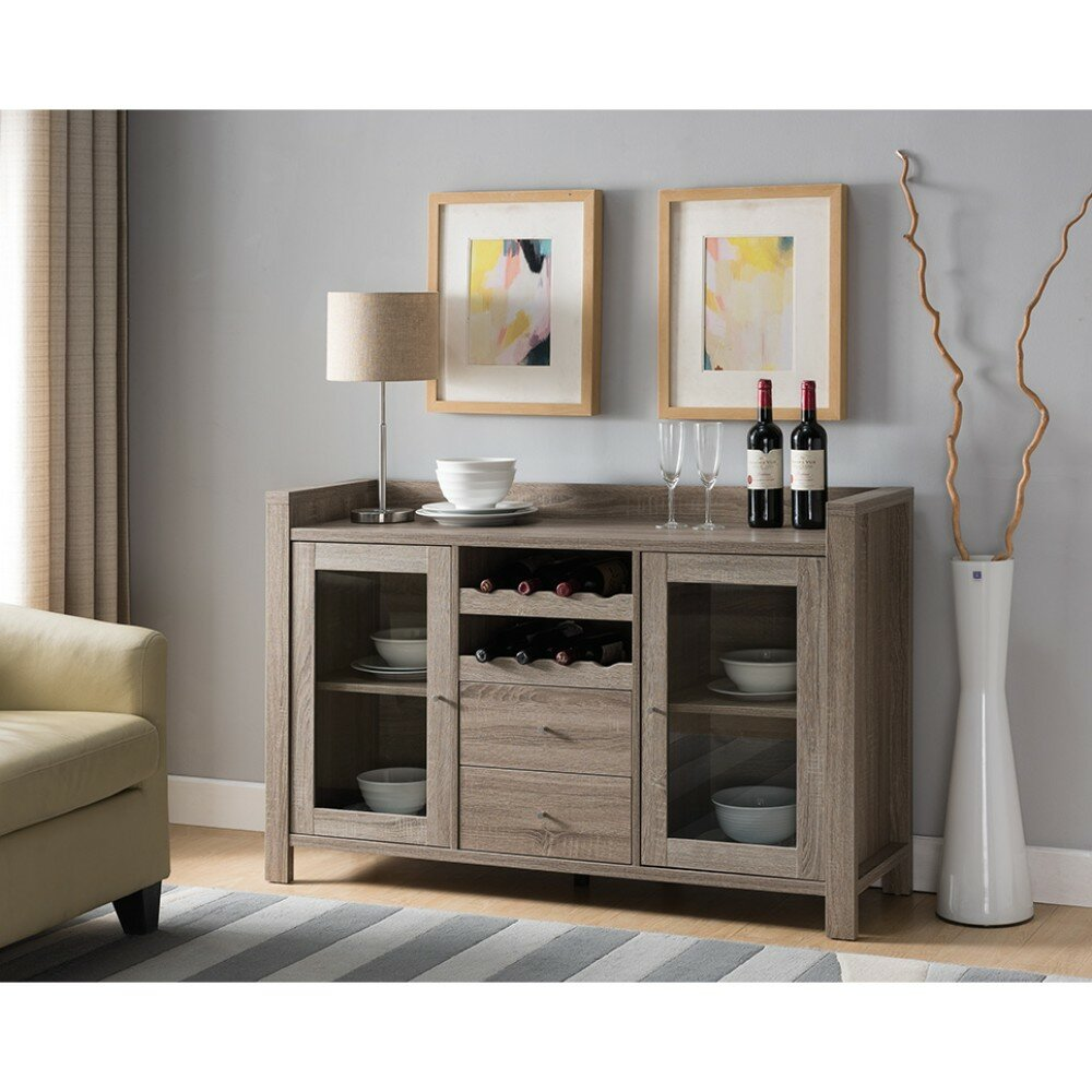Exceptionnel Wrought Studio Hoff Wooden Buffet Table | Wayfair
