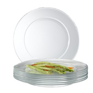 Mazus 10.5\  Dinner Plate (Set of 12)  sc 1 st  AllModern & Modern \u0026 Contemporary Dinner Plates Set   AllModern