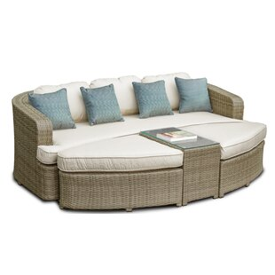 Bevis 6 Seater Rattan Sofa Set With Cushions