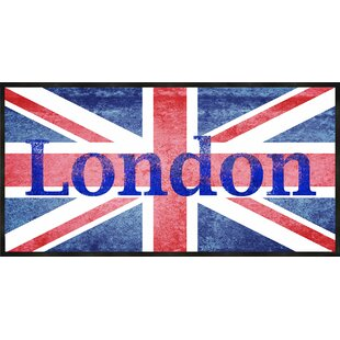 London Flag Framed Graphic Art