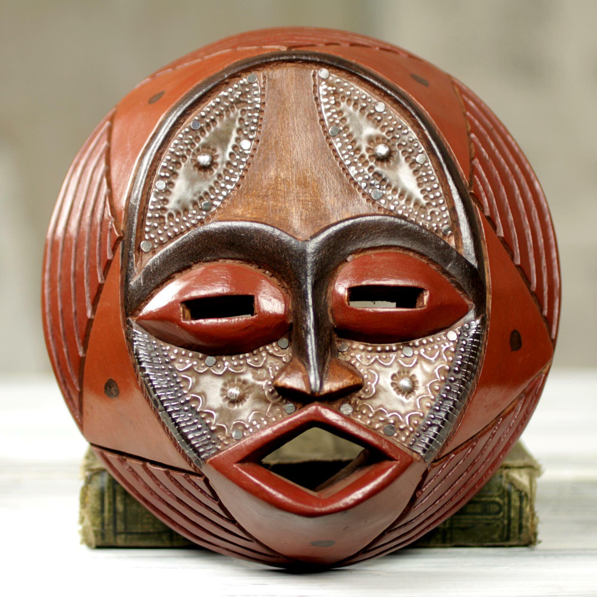 Afričke maske - Page 4 Victor-dushie-handcrafted-circular-west-african-mask-wall-decor