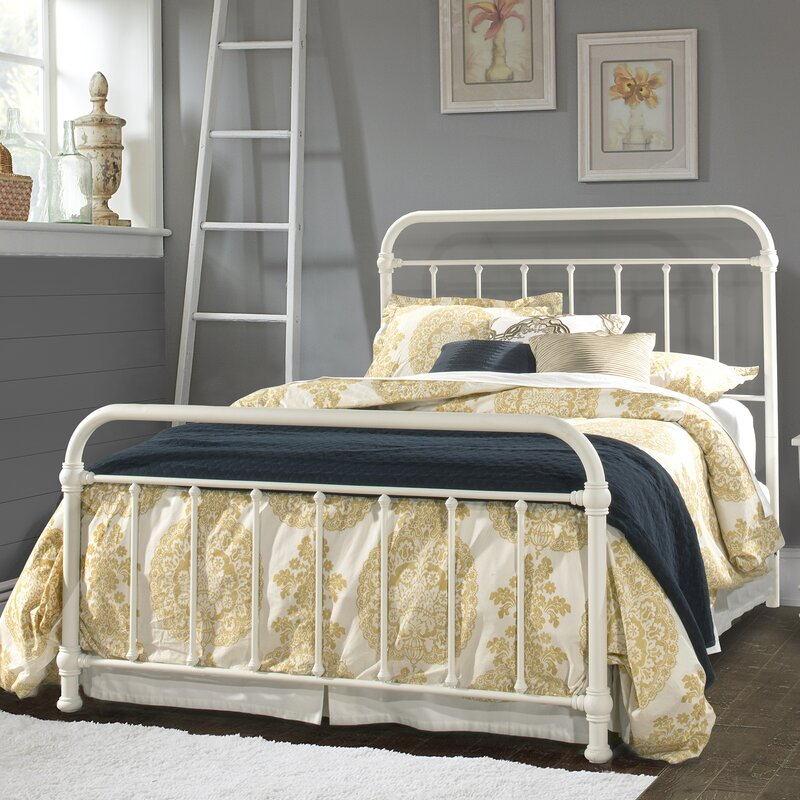 Laurel foundry modern farmhouse harlow panel bed reviews for Harlowe bed