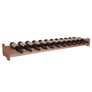 Karnes Redwood Scalloped 12 Bottle Tabletop Wine Rack by Red Barrel Studio