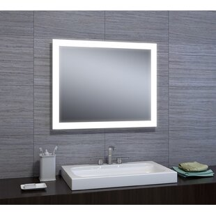 Mirrors with lights youll love wayfair dipali led bathroomvanity mirror aloadofball Images